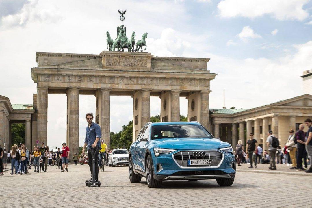 E-Tron Scooter, la nueva patineta de Audi