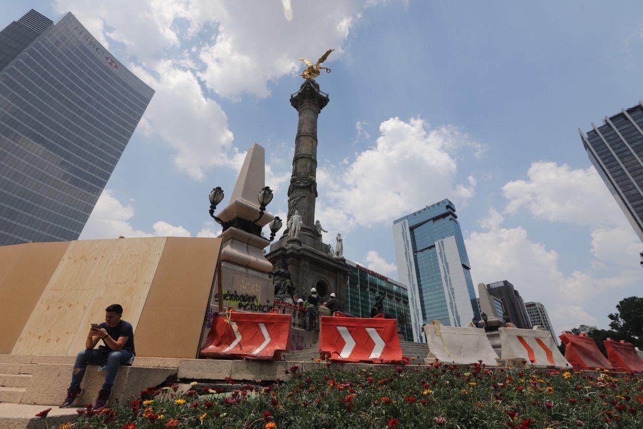Se investiga a grupos de choque en manifestación de mujeres: Jesús Orta