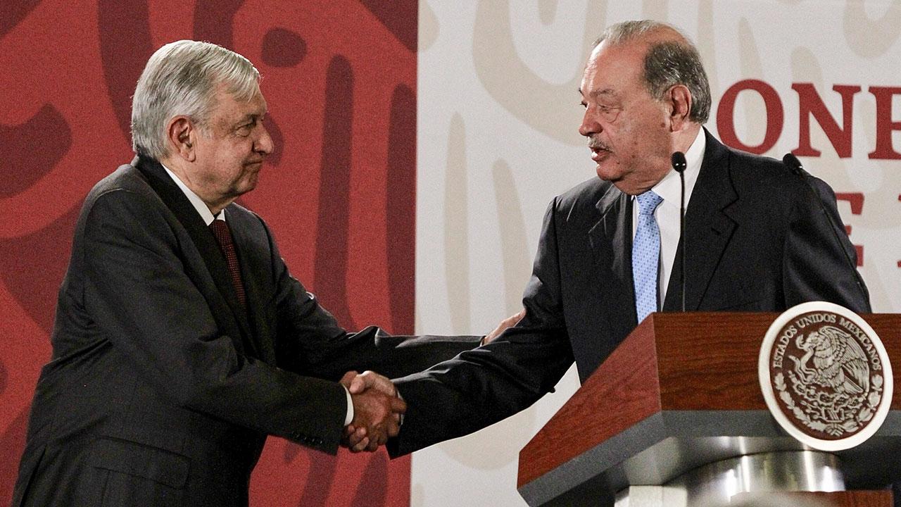 Carlos Slim cree en México y seguirá invirtiendo: AMLO