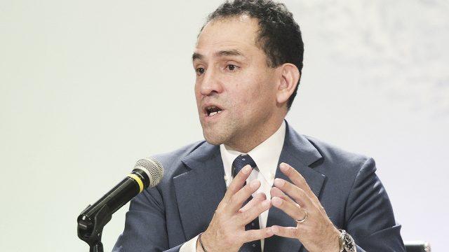 Titular de la Secretaría de Hacienda y Crédito Público, Arturo Herrera. Ciudad de México, 9 de julio de 2019. Foto: Gustavo Durán/Notimex.