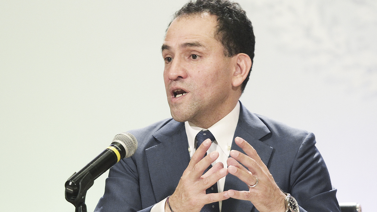 Herrera niega reunión con Meade y González Anaya en Palacio Nacional