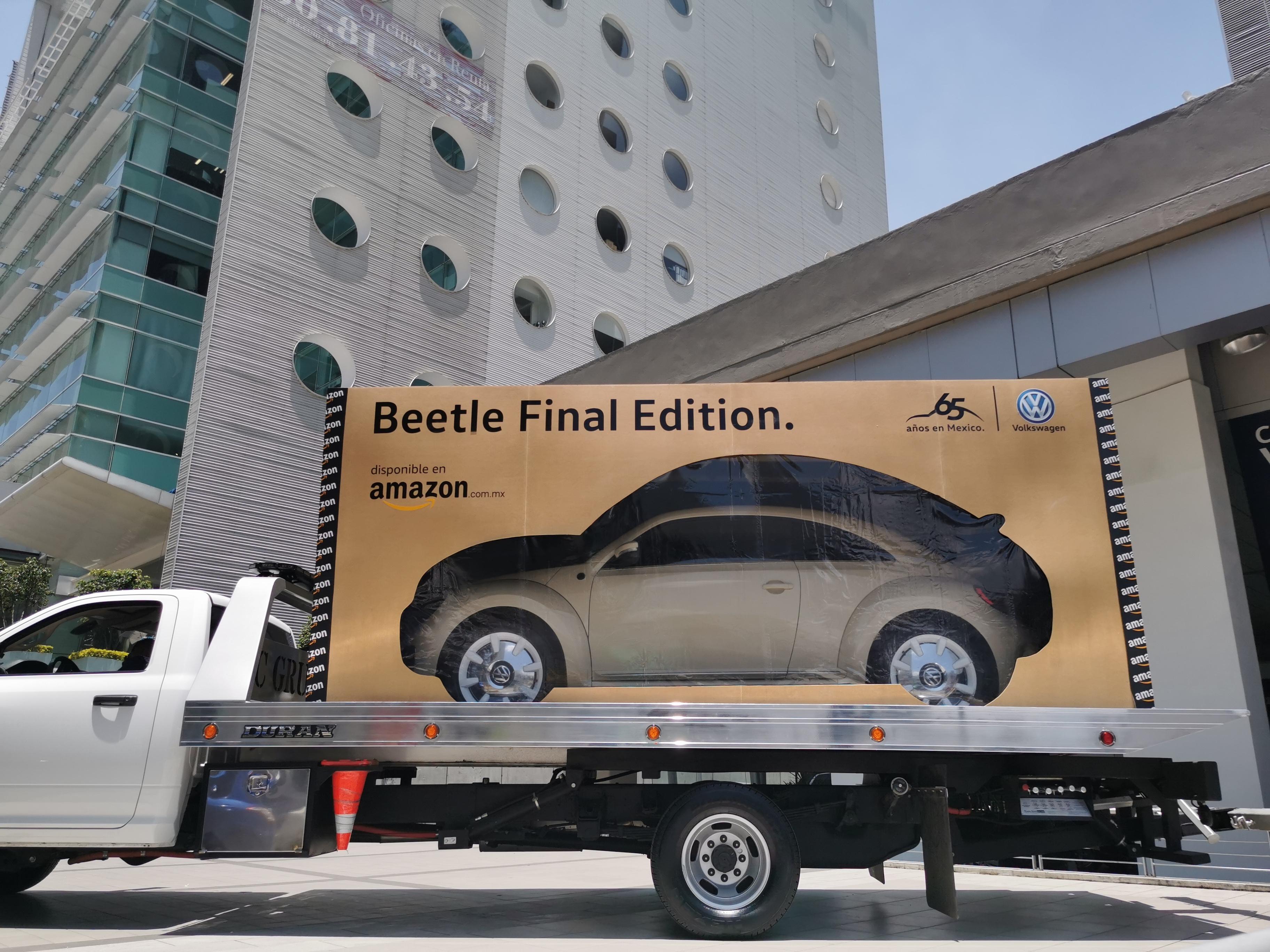 Amazon entregó el primer Beetle Final Edition, en caja y a domicilio