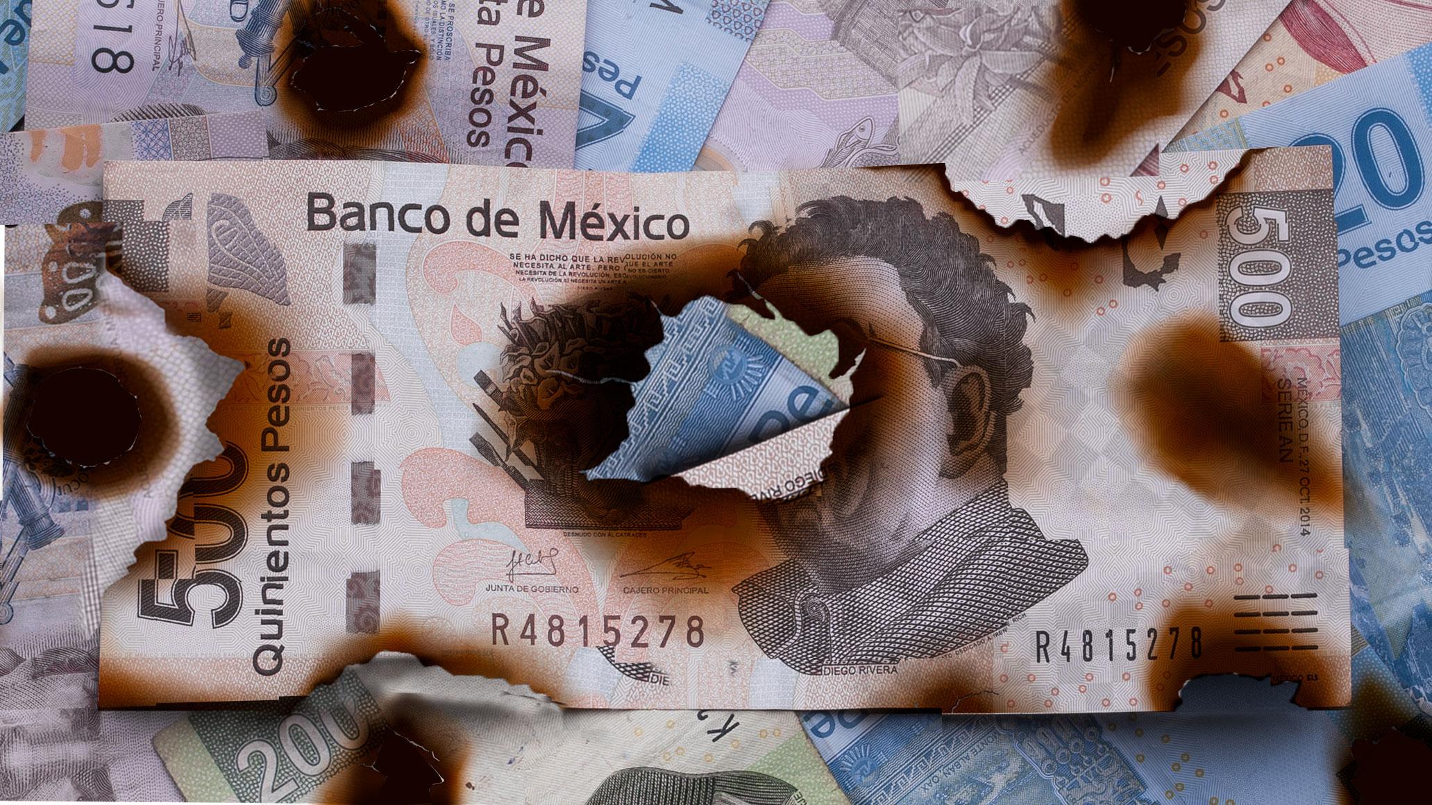 Economía mexicana se contrae por primera vez en una década; cae 0.1% en 2019