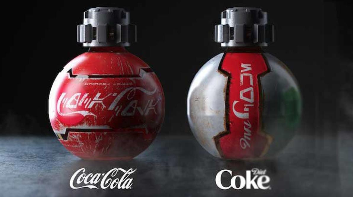 Coca-Cola de Disney Star Wars fue prohibida en vuelos comerciales