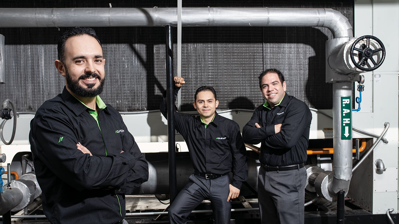 Clevot revoluciona la técnica de limpieza industrial