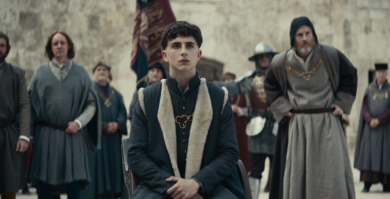 Netflix muestra a Timothée Chalamet en la piel de 'The King'