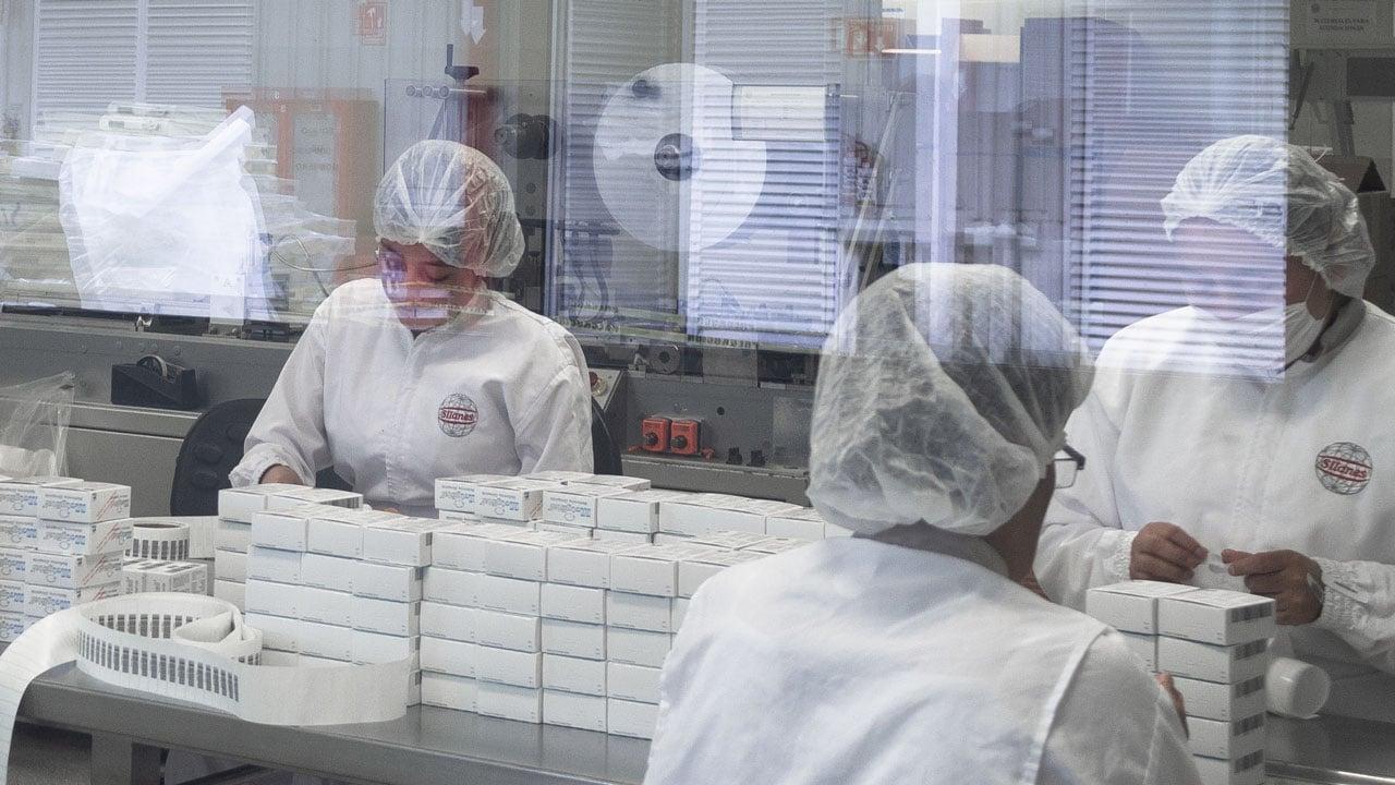 Industria farmacéutica se compromete a mantener suministro de medicinas