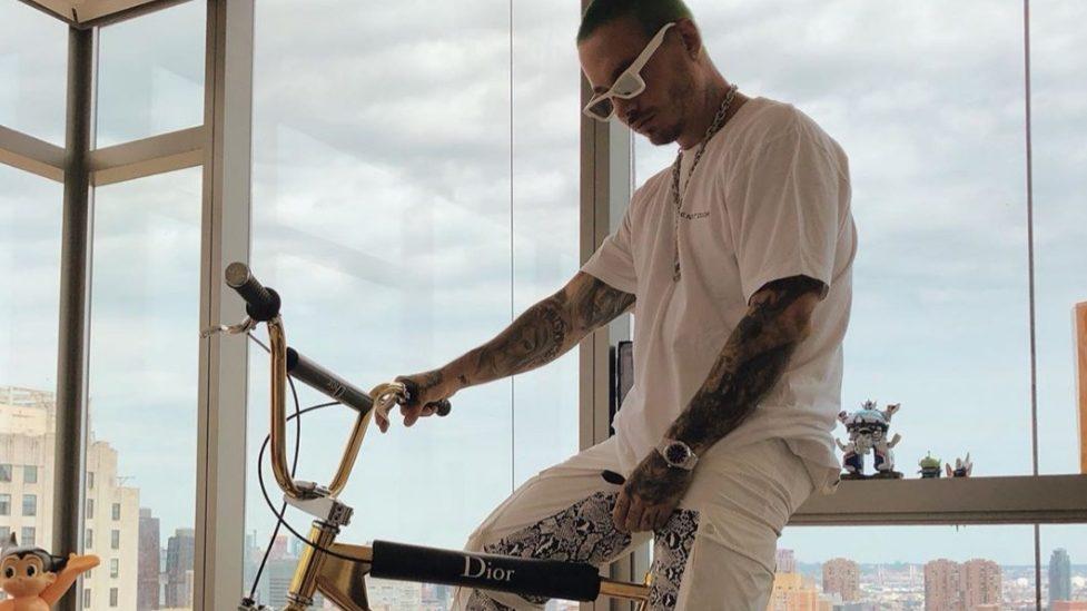 Cuánto cuesta la bicicleta de oro de J Balvin