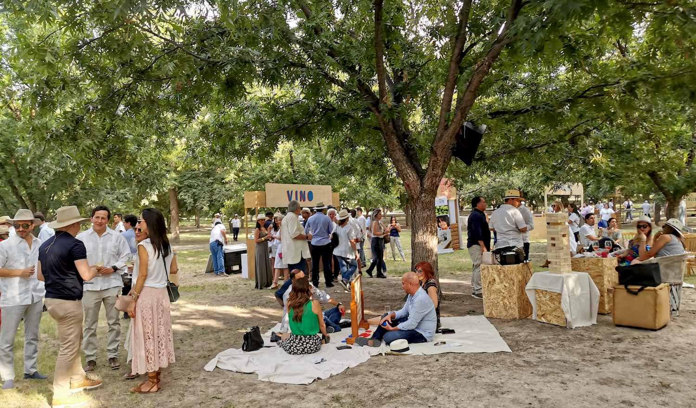 Rivero González celebra el momento del vino en su Fiesta de la Vendimia