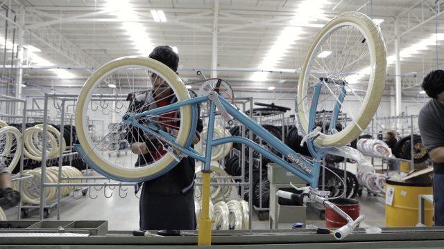 Línea de producción de bicicletas Mercurio. Foto: Arturo Luna/Forbes México.