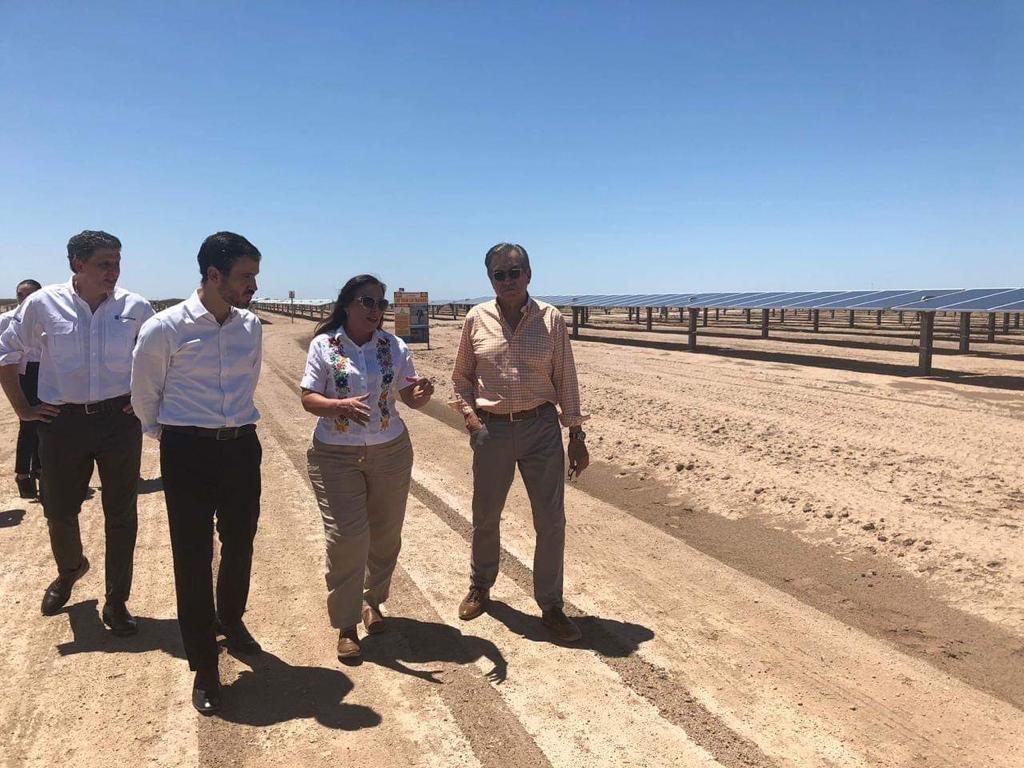 Zuma Energía inaugura parque solar en Sonora