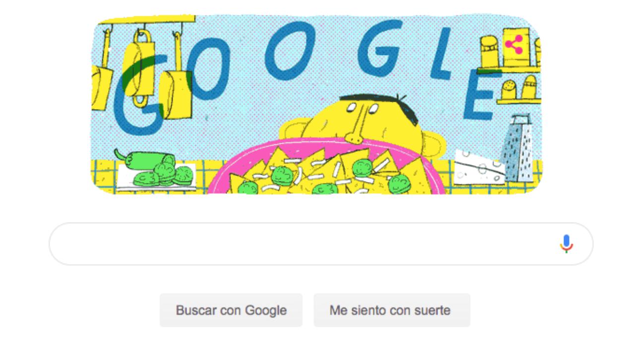 """Google celebra al mexicano creador de los """"nachos"""" en su natalicio"""
