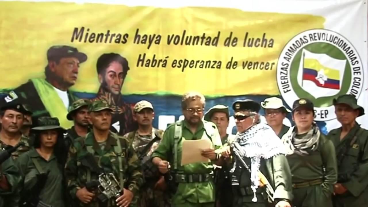 Disidencia de las FARC anuncia nueva lucha armada en Colombia
