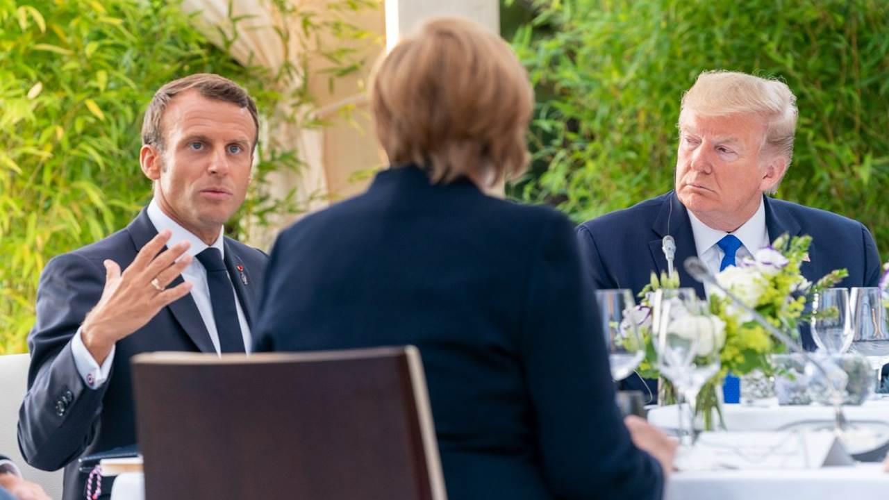 Diferencias entre líderes rondan cumbre del G-7 en Francia