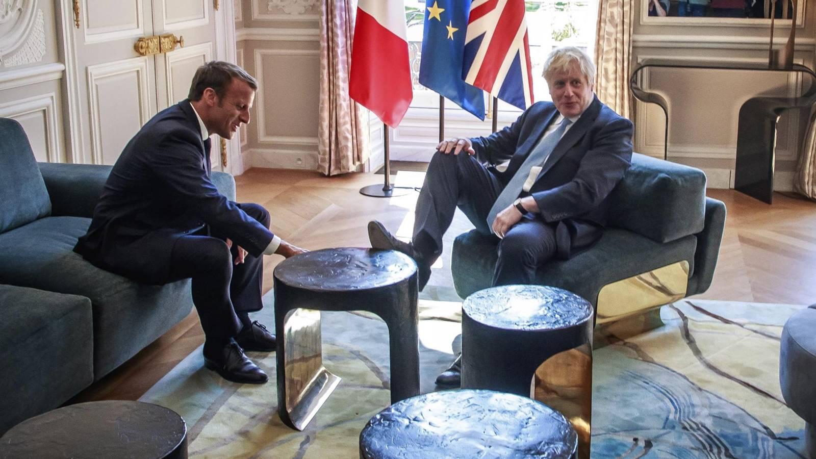 Macron dice a Boris Johnson: ya no hay tiempo para nuevo acuerdo de Brexit