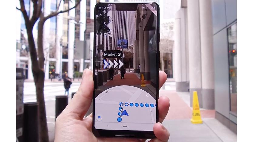 Indicaciones de Google Maps en realidad aumentada llegan a iOS y Android