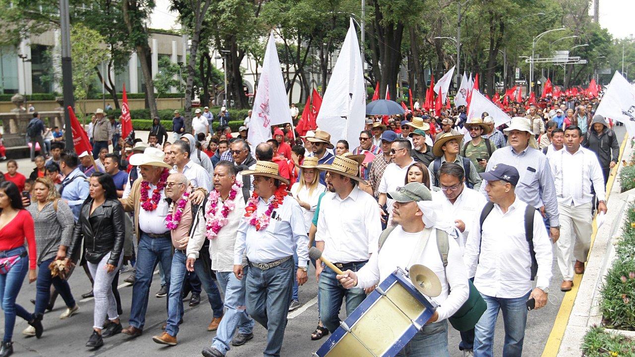 Marchas y bloqueos 'desquiciarán' la CDMX este jueves
