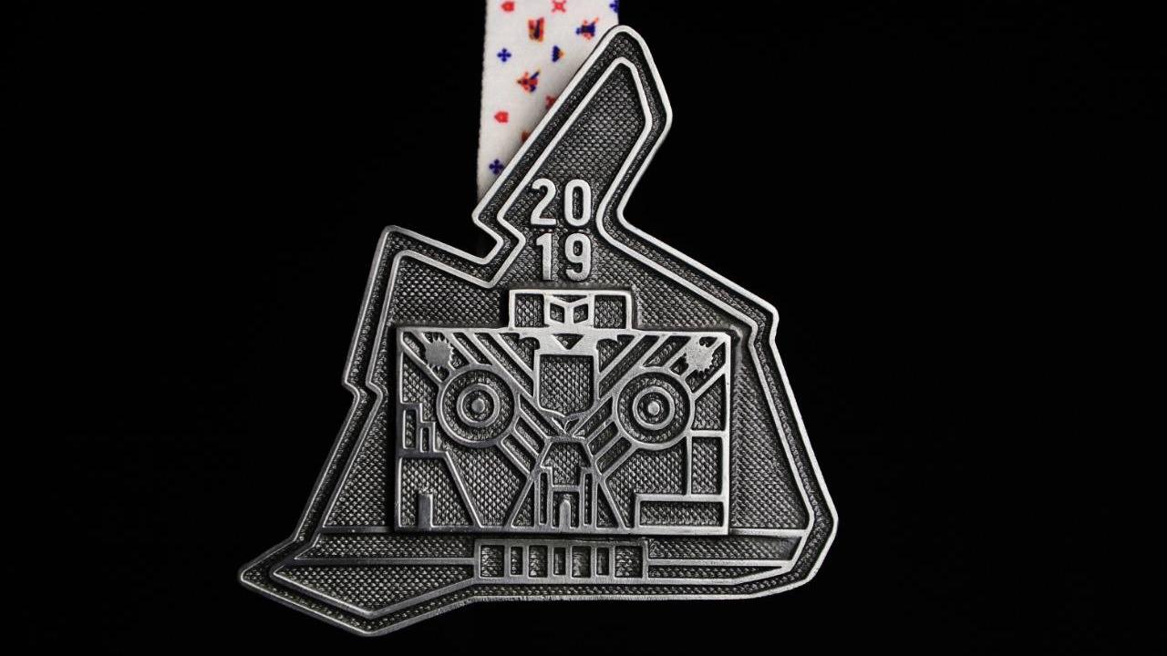 Esta es la nueva medalla del Maratón de la Ciudad de México