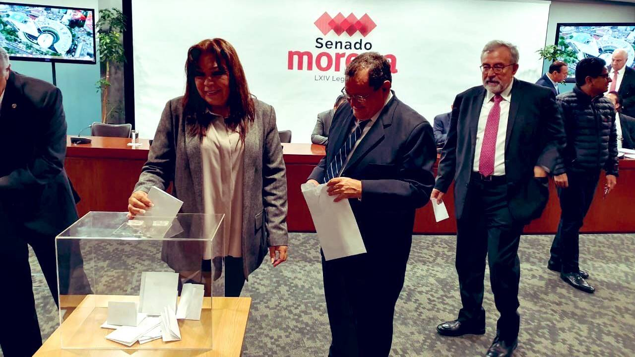 Disputa Batres-Monreal resurge tras votación para Mesa Directiva del Senado