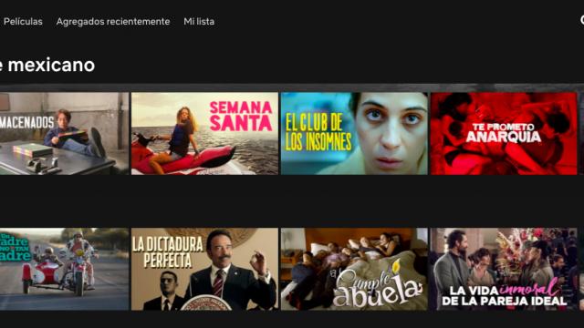 Netflix Día del Cine Mexicano
