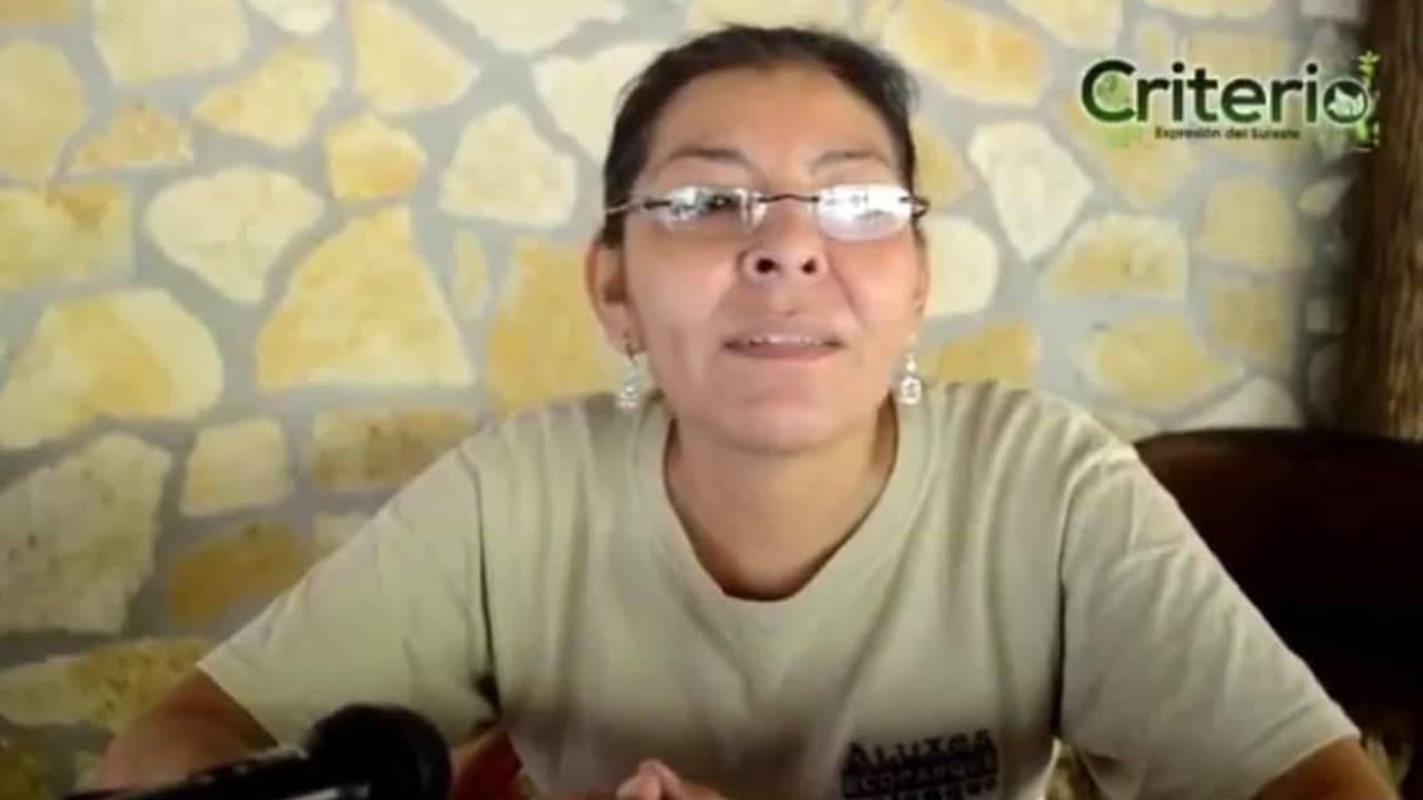 Fiscalía investiga asesinato de ambientalista Nora López en Chiapas