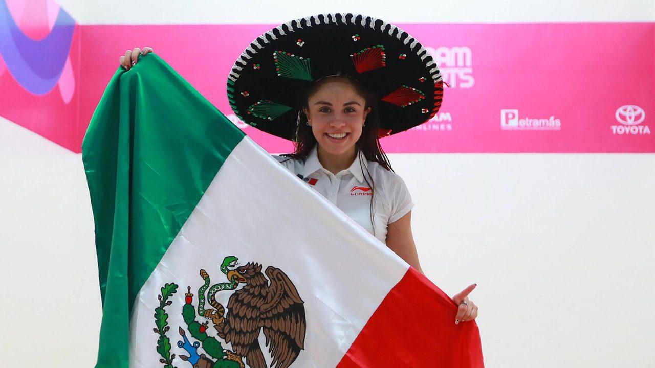 Paola Longoria consigue el tricampeonato panamericano