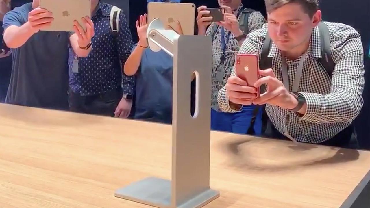 Así es el soporte del nuevo display de Apple por el cual deberás pagar 1,000 dólares