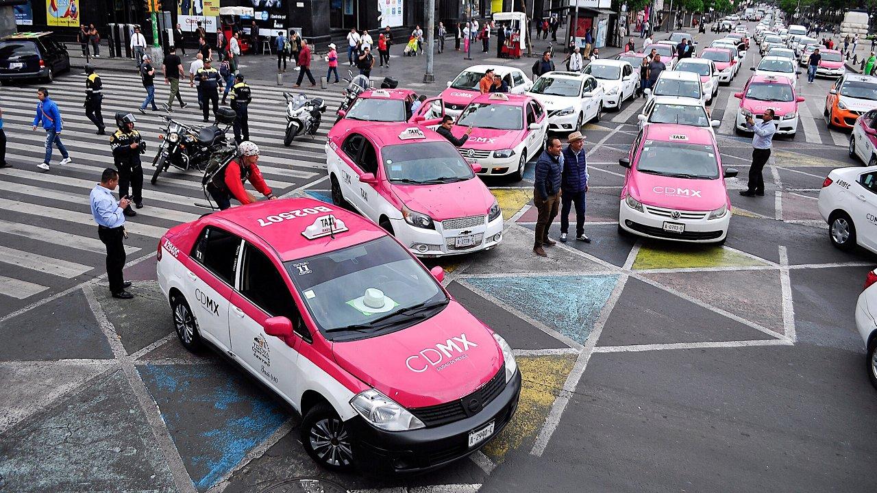 Las 7 colonias más inseguras en la CDMX para pedir un taxi