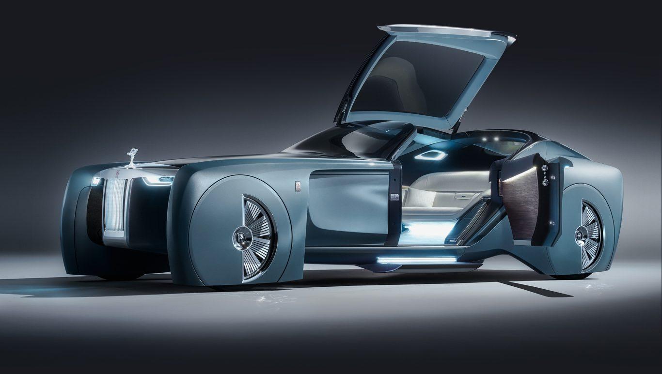 Rolls-Royce 103EX, el auto de lujo del futuro