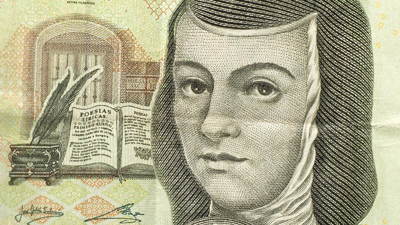 Sor Juana 'sobrevive': regresará a los billetes en 2020