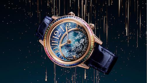 Rendez-Vous Celestial, el reloj inspirado en la aurora boreal