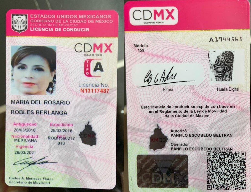 Falsa, la licencia que tiene a Rosario Robles en prisión, acusa defensa