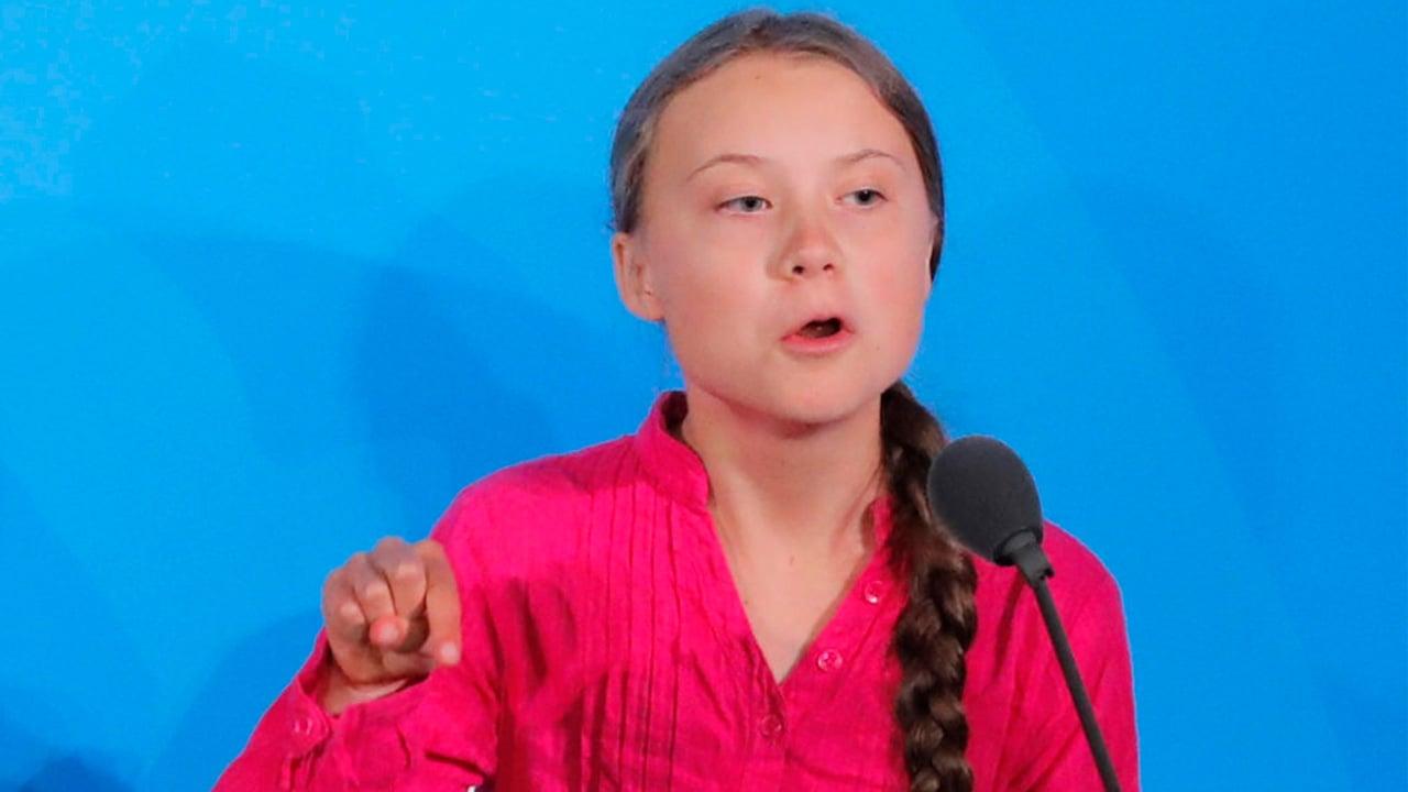 Mensaje por clima ya es 'demasiado potente' para Trump y críticos: Greta Thunberg