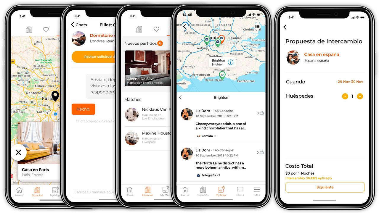 La app con la que puedes hospedarte en tus viajes por un dólar