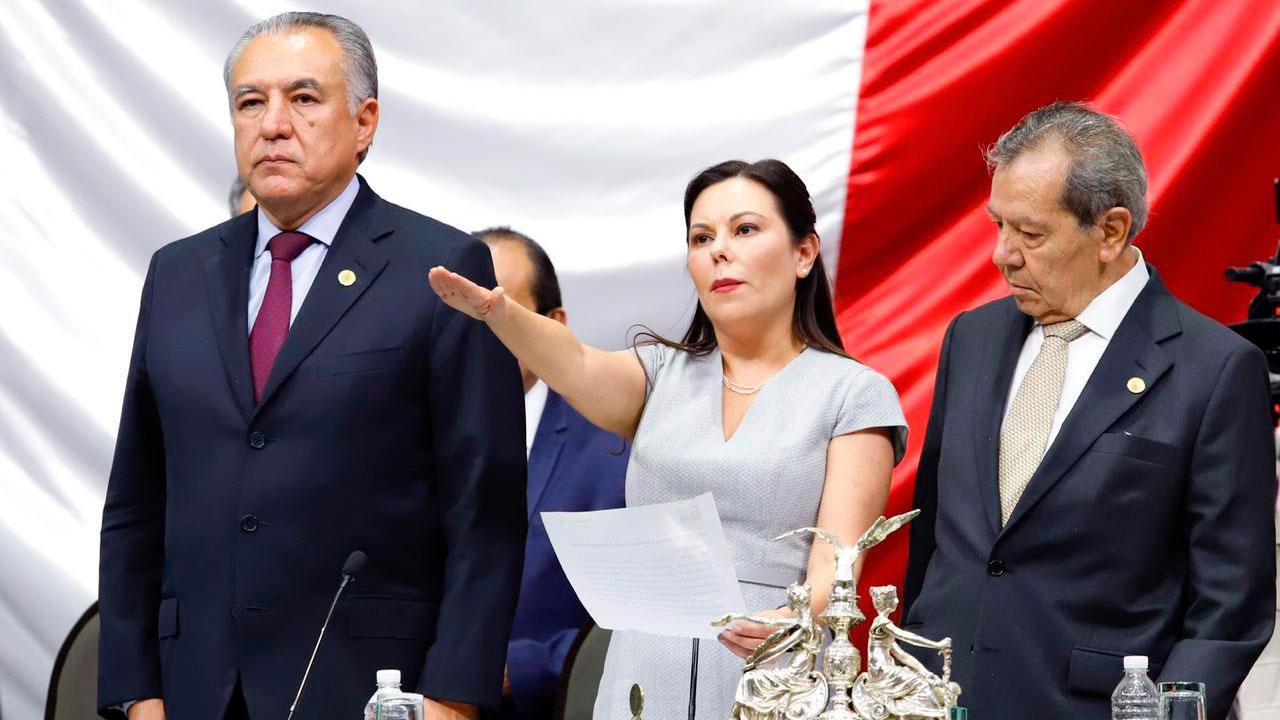 Al tercer intento, la panista Laura Rojas es electa presidenta de San Lázaro