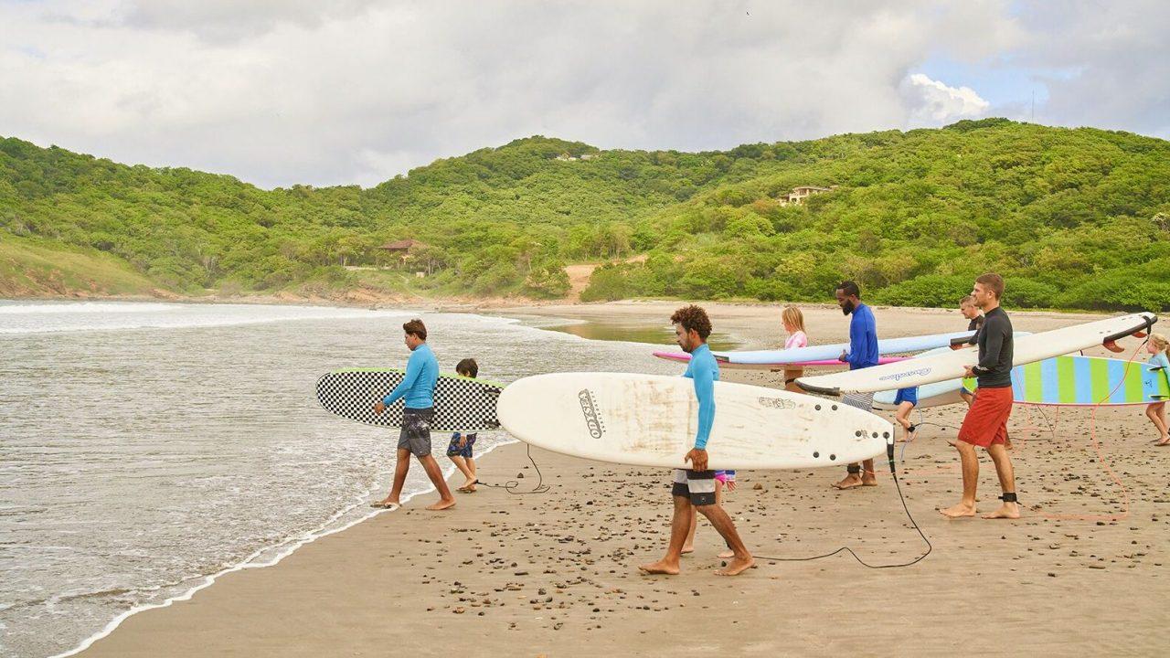 Las cinco mejores playas para practicar surf en Nicaragua