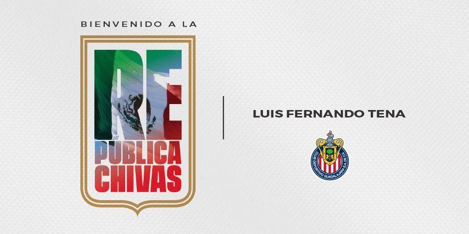Luis Fernando Tena, nuevo técnico de Chivas de cara al Clásico contra América