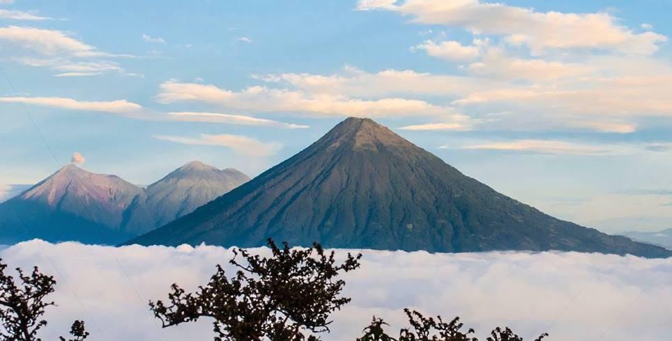 La ruta de los volcanes en Guatemala
