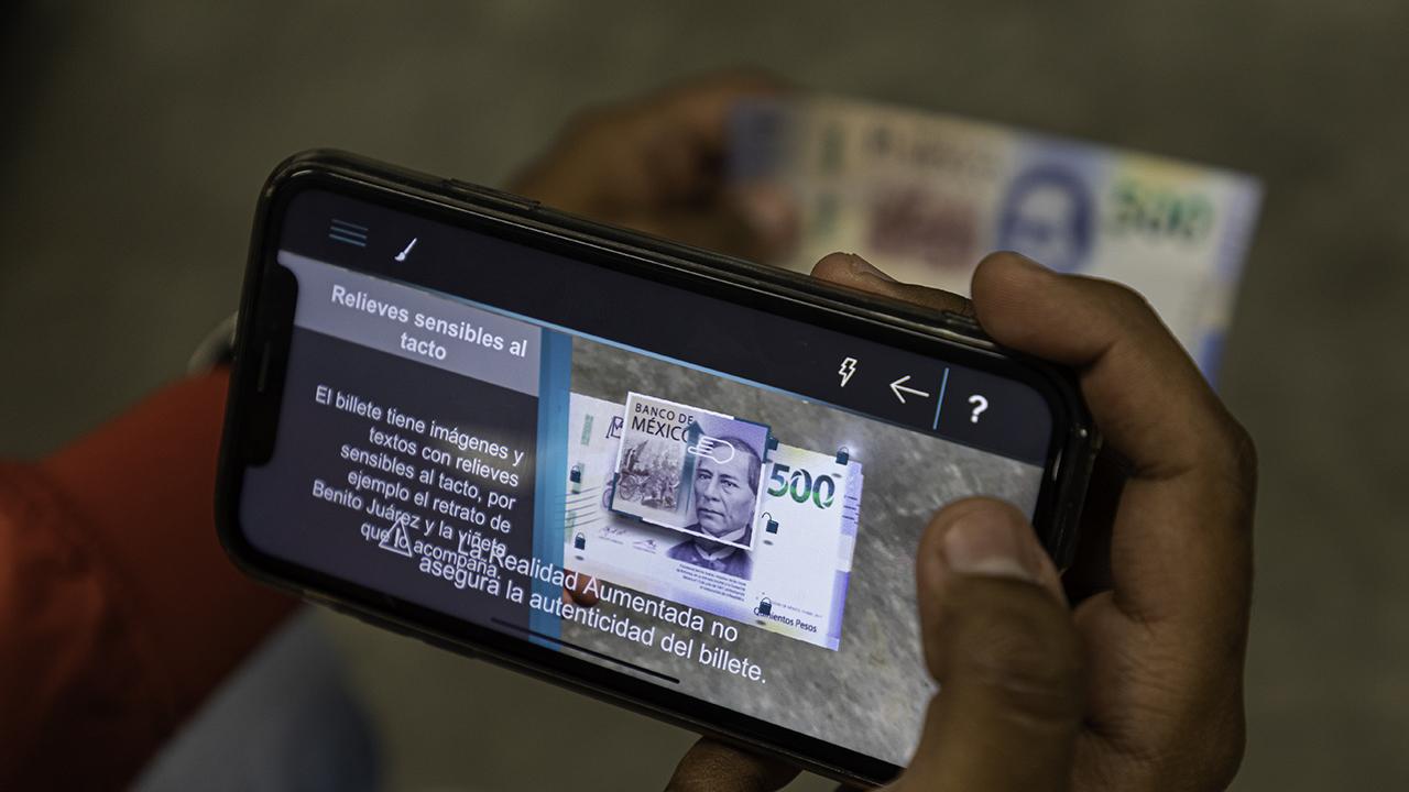 Banxico confirma: su app no detecta billetes falsos
