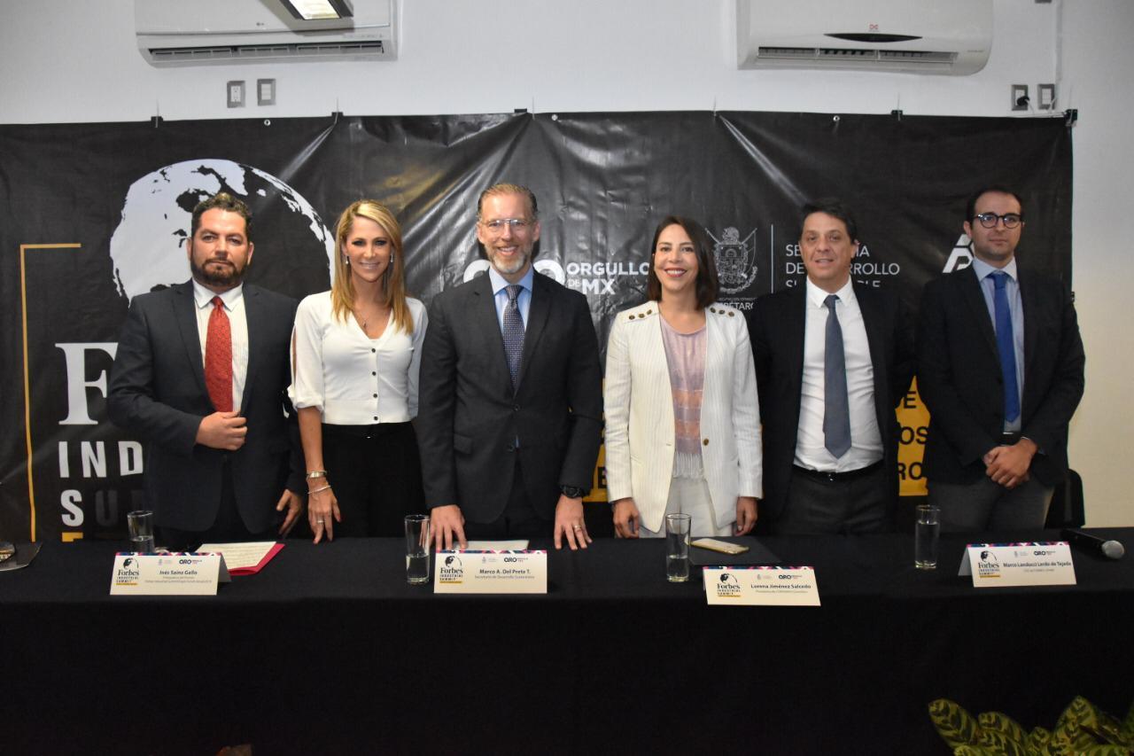 Forbes Industrial Summit 2019 llegará a Querétaro el 5 y 6 de noviembre