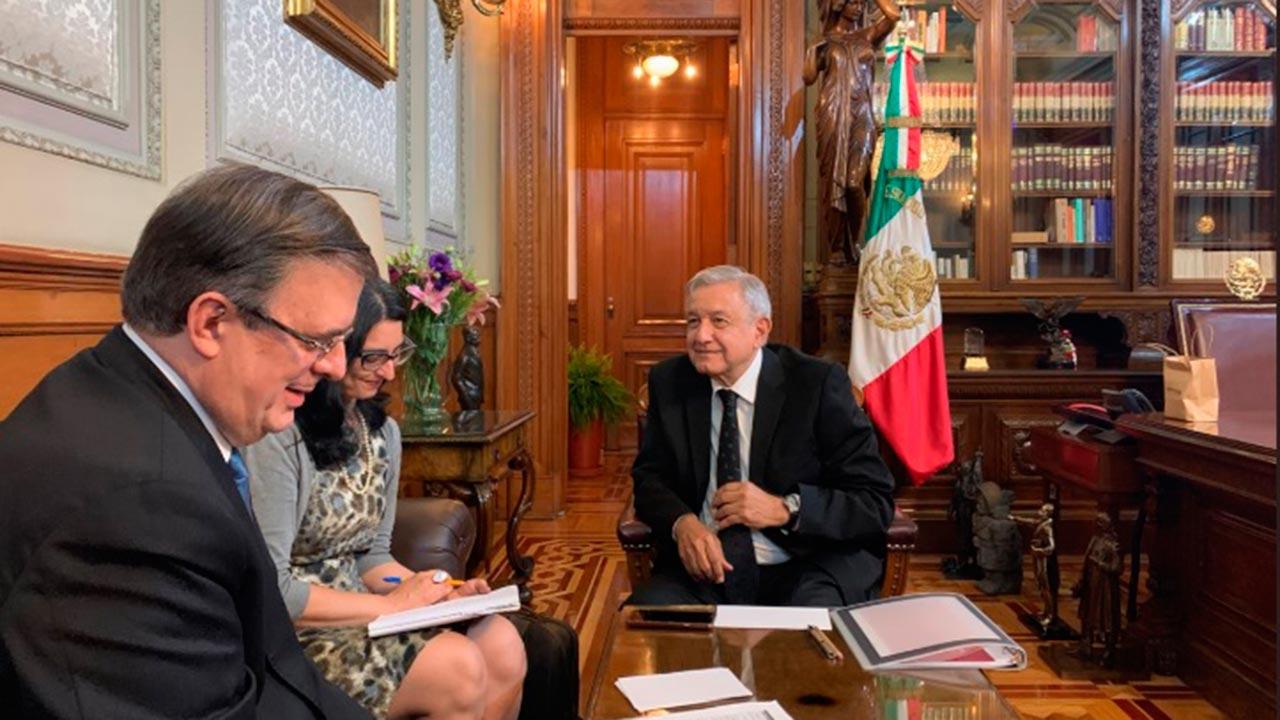 AMLO y Donald Trump reafirman disposición a la cooperación