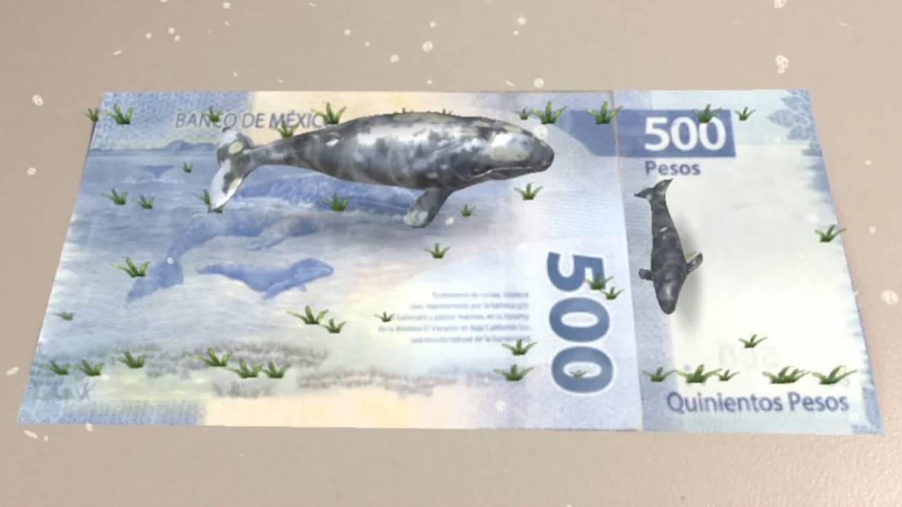 Ahora podrás detectar billetes falsos con esta app de Banxico