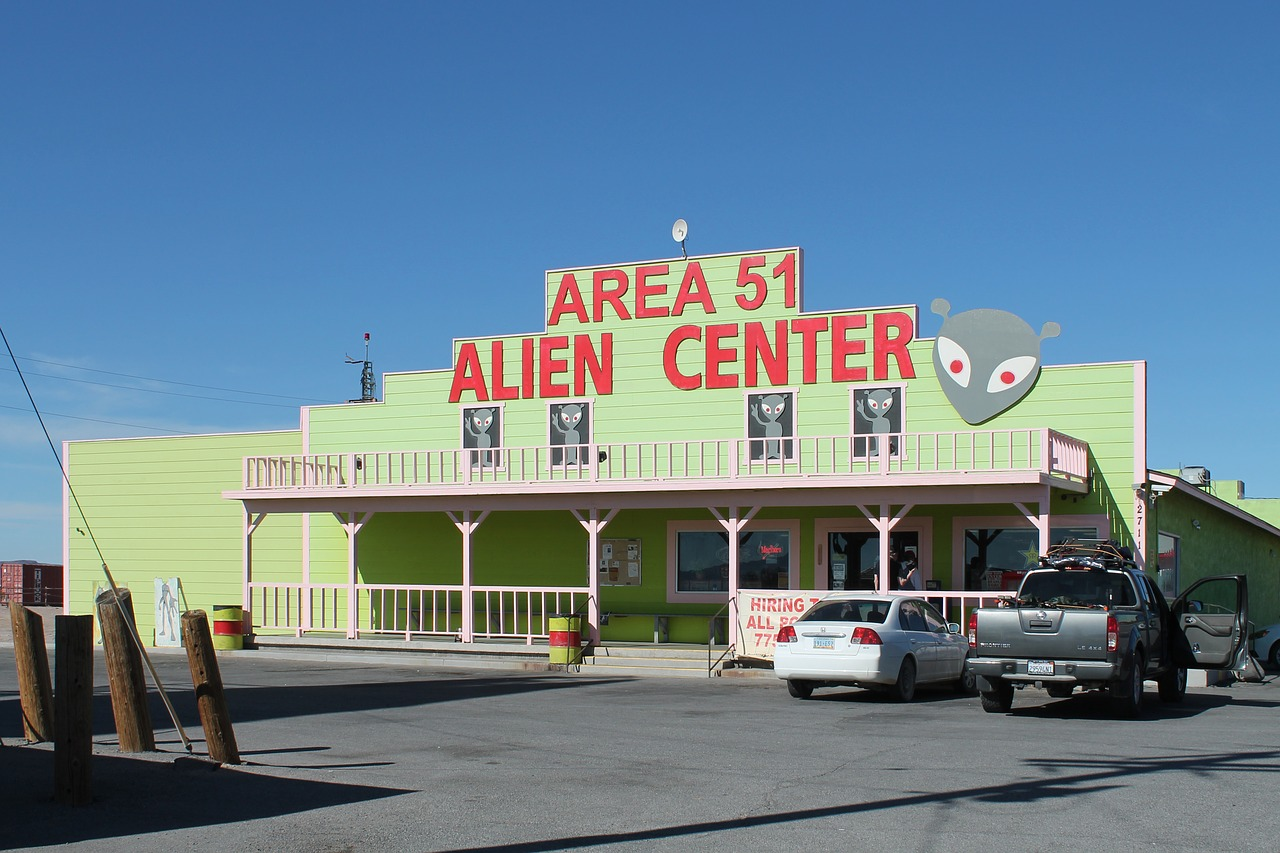 El Área 51, una de las zonas de culto más visitadas