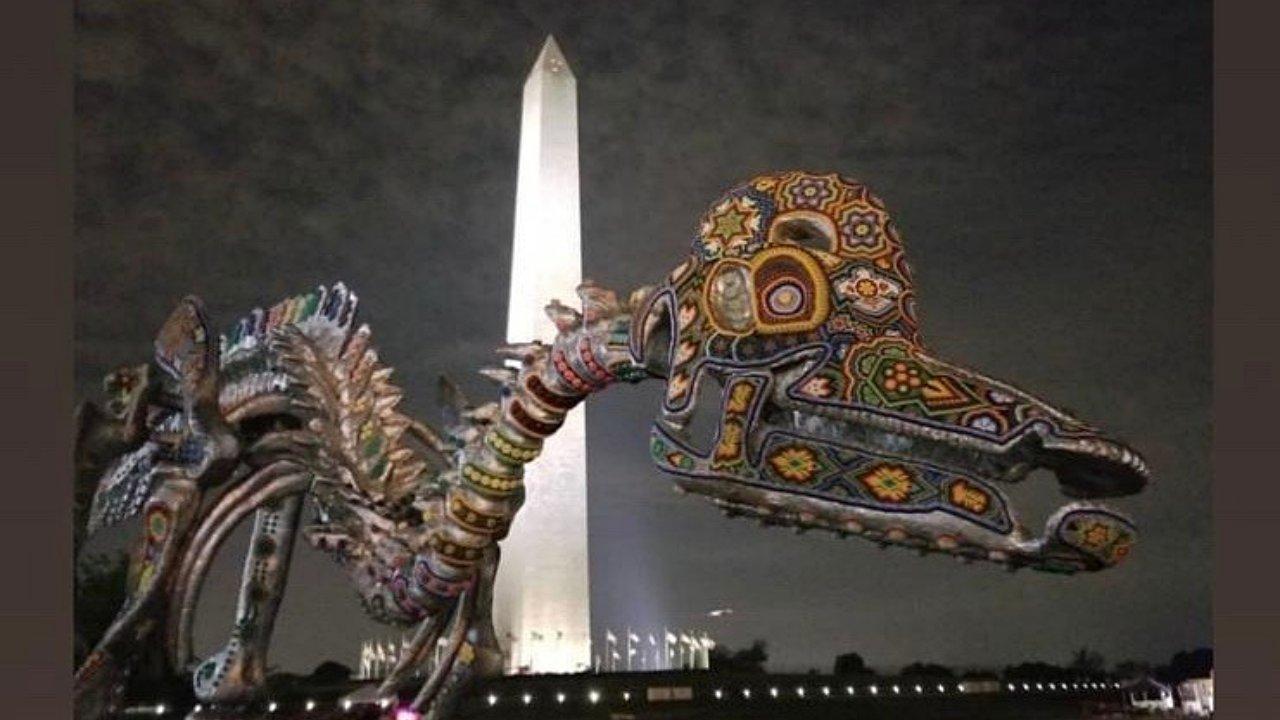 Arte huichol atrapa las miradas en Estados Unidos