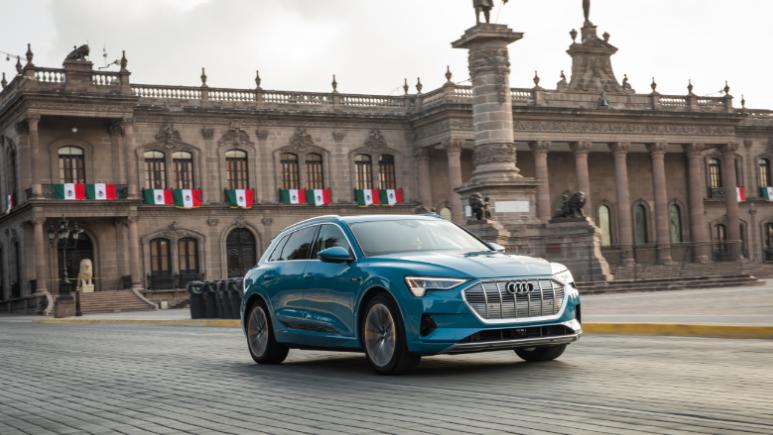 Llega a México el primer auto totalmente eléctrico de Audi