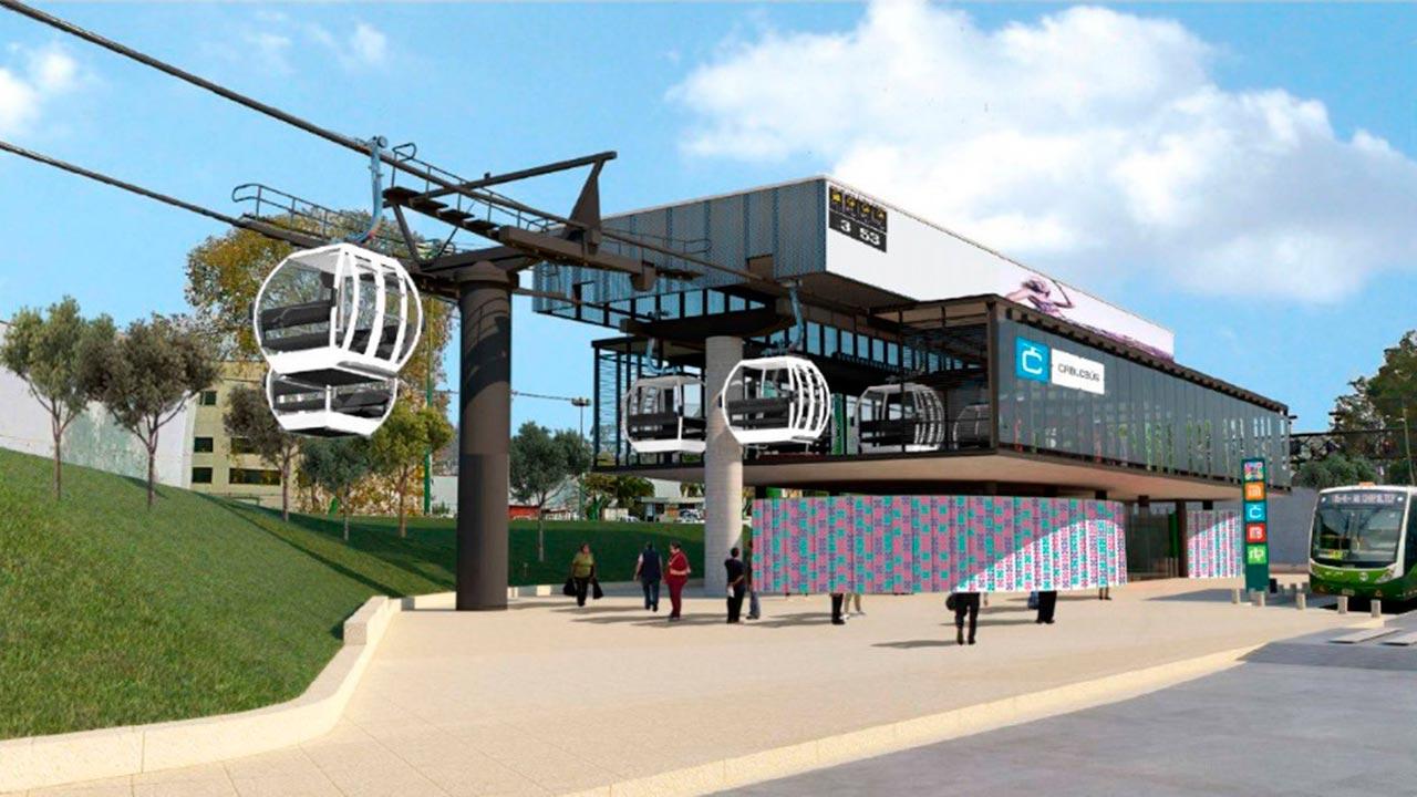 Habrá diálogo sobre el proyecto del Cablebús: Claudia Sheinbaum