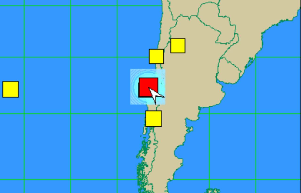 Chile registra sismo de 6.8 grados sin riesgo de tsunami