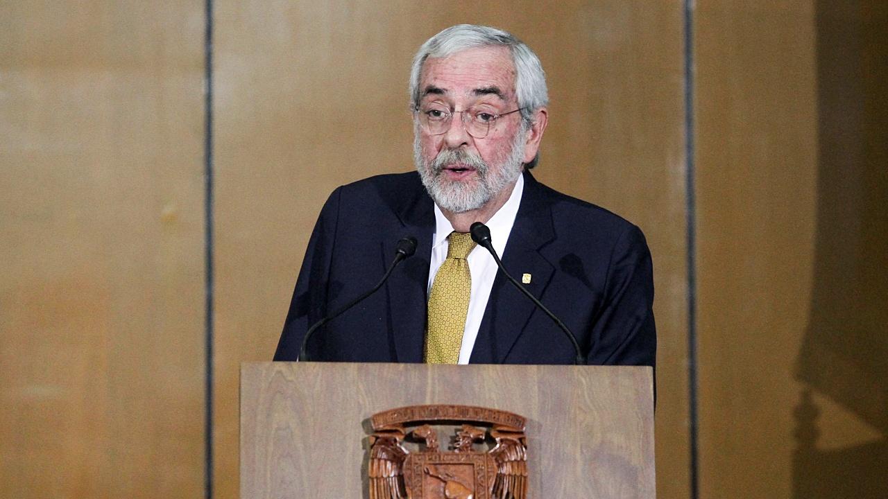 Graue va por reelección en rectoría de la UNAM