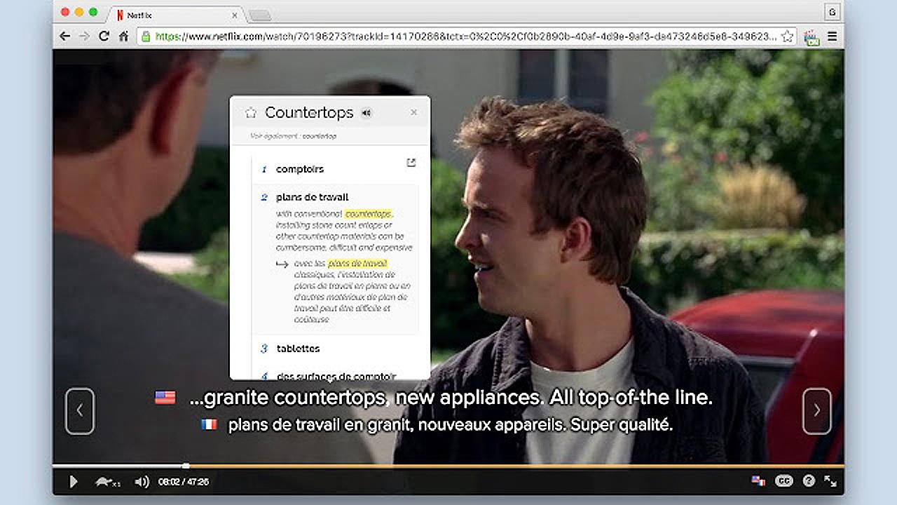 Aprende inglés mirando Netflix, YouTube y hasta las charlas de TED