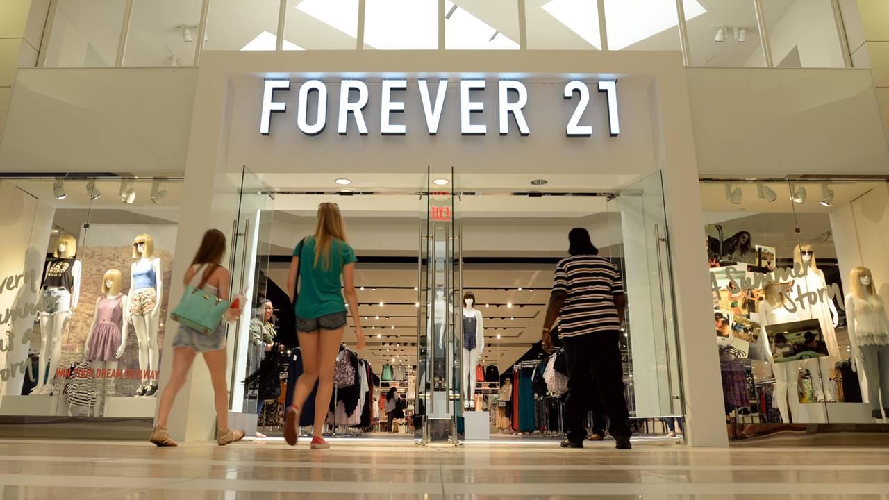 Forever 21 se declara en bancarrota y alista el cierre de 178 tiendas